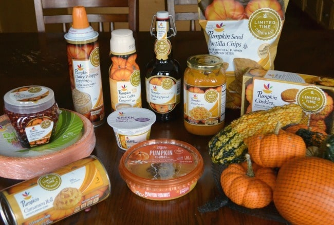 I went a little crazy at Giant and bought up pumpkin everything while it was available.