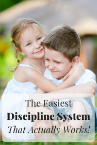 The Easiest Discipline System for Kids That Actually Works