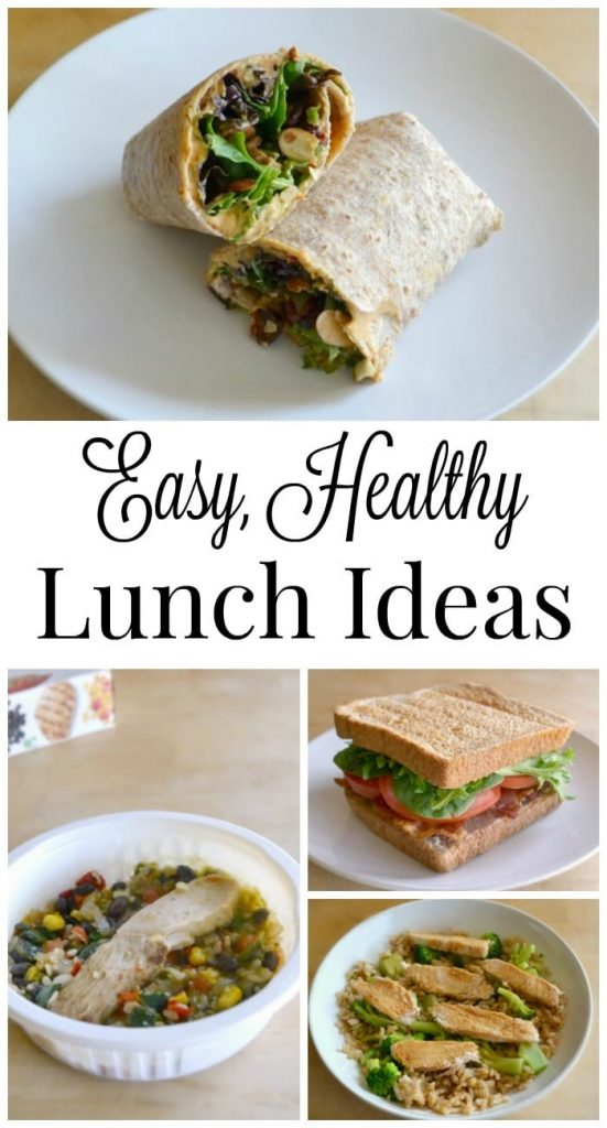 These easy, healthy lunch ideas make it easier to enjoy satisfying mid-day meals without sabotaging your healthy lifestyle.