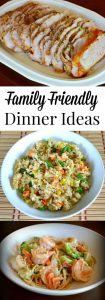 Family Friendly Dinner Ideas