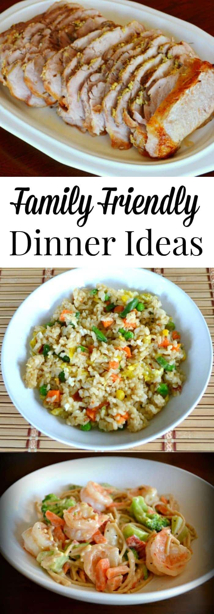 One of the biggest challenges for busy moms is getting a healthy meal on the table every night. Here's acollectionof family friendly dinner ideas to help. #dinnerideas #family #busymoms #healthymeal via @wondermomwannab