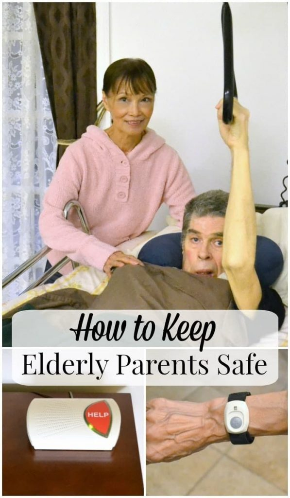 As our parents age, risk of falls or injuries increase. There are ways to provide them with security without encroaching on their independence.