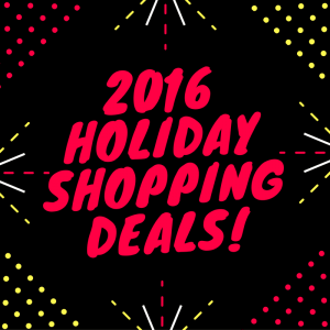 2016 Holiday Shopping Deals