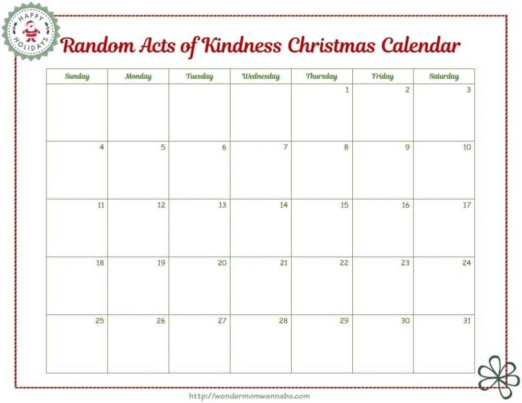Kid Christmas Calendar