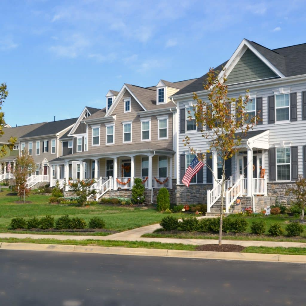 homes in the embrey-mill community