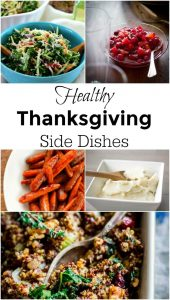Healthy Thanksgiving Side Dishes Your Family Will Love