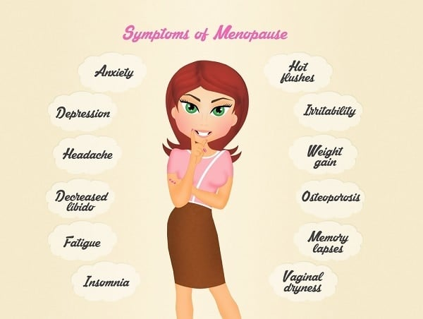 the menopause symptoms