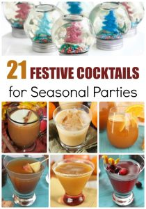 21 Festive Cocktails for Seasonal Parties