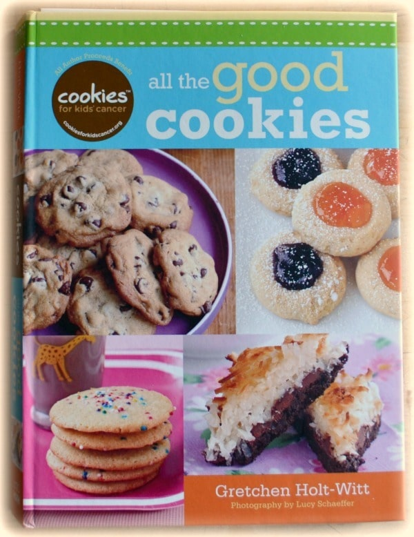 a cookbook titled All The Good Cookies