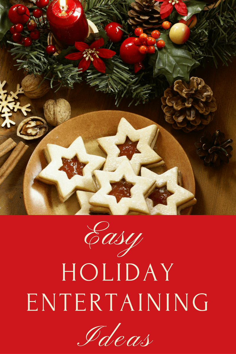 These easy holiday entertaining ideas will save you time, effort, and stress so you can focus on having fun and enjoying your guests. #entertaining #holidays #holidayentertaining  via @wondermomwannab
