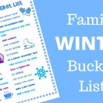 Family Winter Bucket List Ideas