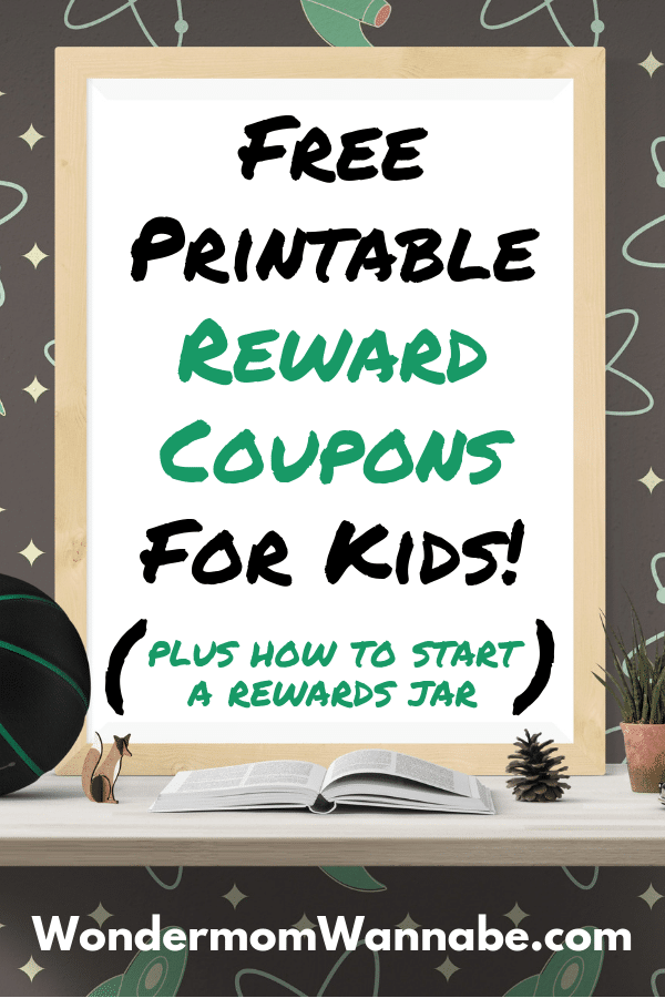 Printable Reward Coupons for Kids