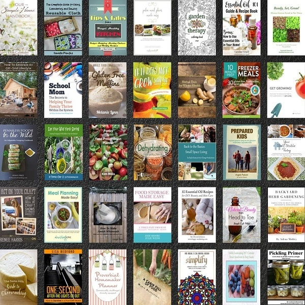 a collage of book covers of things offered in the bundle