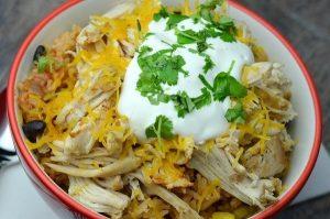 Chicken Taco Bowls