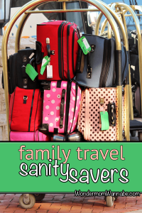 Family Travel Sanity Savers