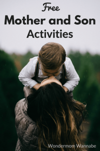 Free Mother and Son Activities