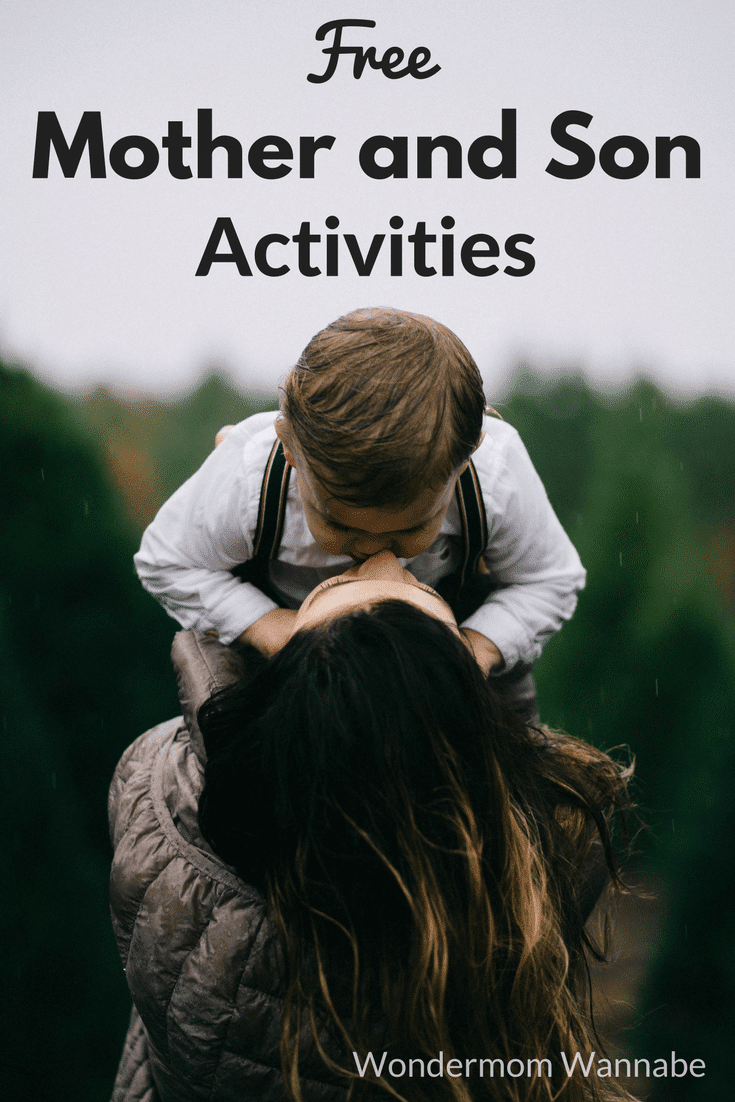 Some fun, free mother and son activities for both at home and out and about.