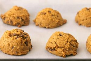 No Flour Peanut Butter Protein Cookies