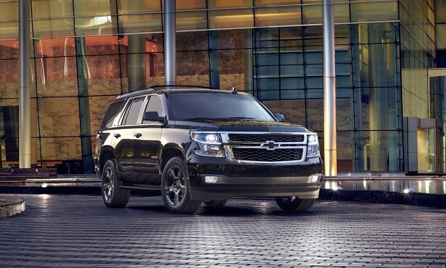 2017 Chevrolet Tahoe inside a big building