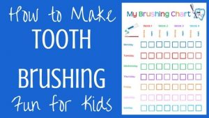 How to Improve Kids' Dental Hygiene + Free Tooth Brushing Chart