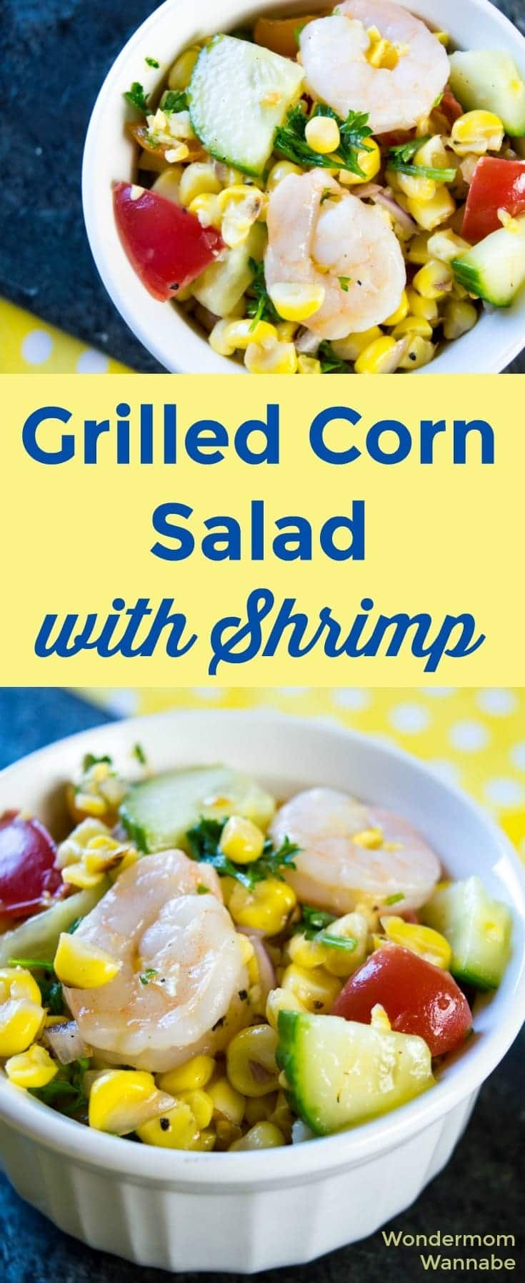 This grilled corn salad is always a hit since it's so full of color, texture, and delicious flavor. I love how easy it is to make!