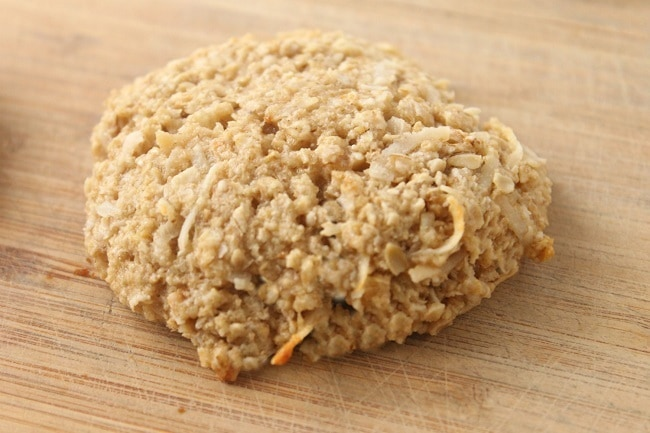Coconut Oatmeal Protein Cookie