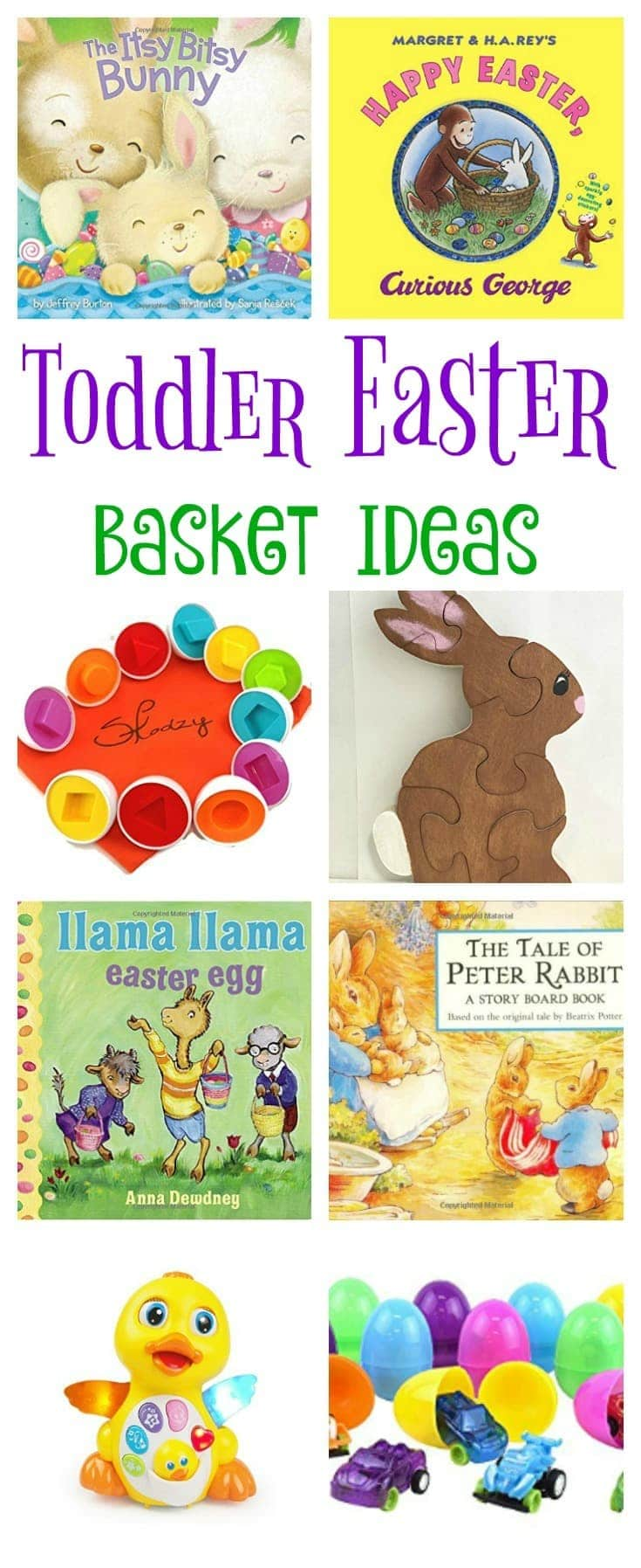 This is a great collection of toddler Easter basket ideas (with links directly to the items so you can fill your child's basket from home!). Lots of other ideas too for making Easter a fun and magical holiday for toddlers.