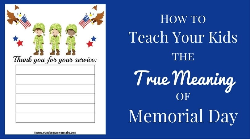 Teach your kids the true meaning of memorial day for What does flipping a house mean