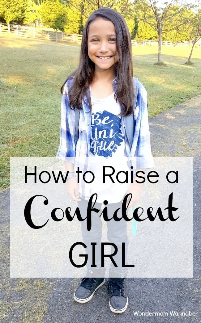Great suggestions for raising your daughter to be a confident girl so that she can enjoy life more and you can worry less!