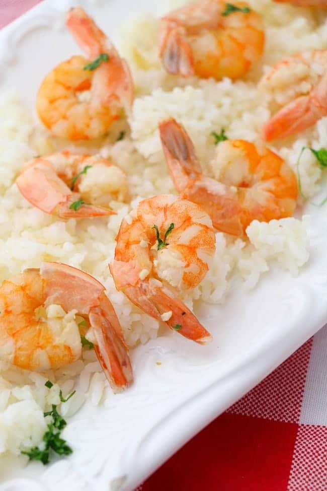 This Instant Pot Shrimp Scampi is so easy to make it's hard to believe it has so much flavor!