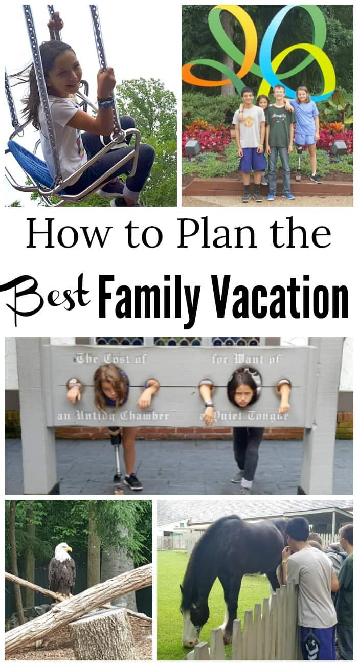 Practical tips to help you plan the best family vacation.