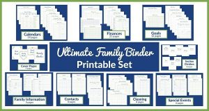 Ultimate Family Binder Set