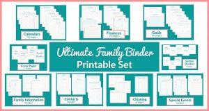 Printable Family Planner