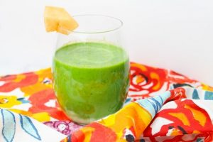 Cantaloupe Green Smoothie Recipe