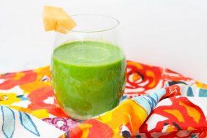 Cantaloupe Green Smoothie Recipe