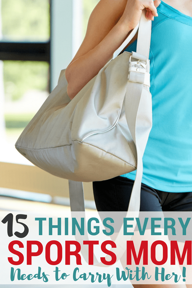 If your child is an athlete, you need to carry a sports mom bag of essentials. This list covers everything you need.