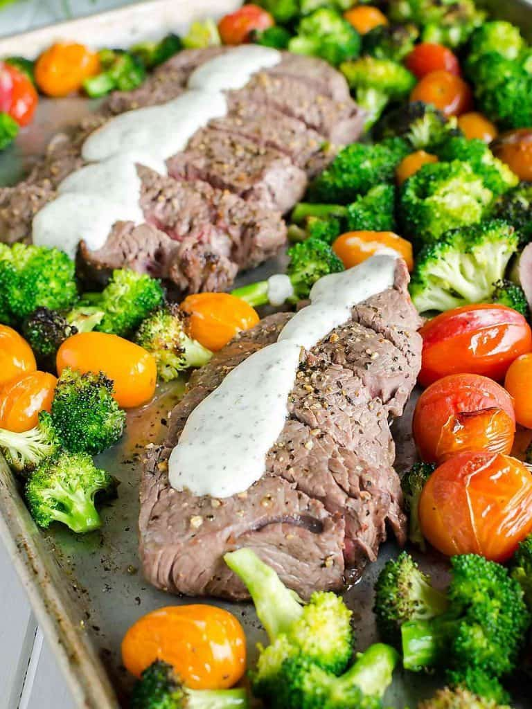 Beef Sheet Pan Dinners