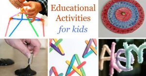 15 Fun Educational Activities for Kids