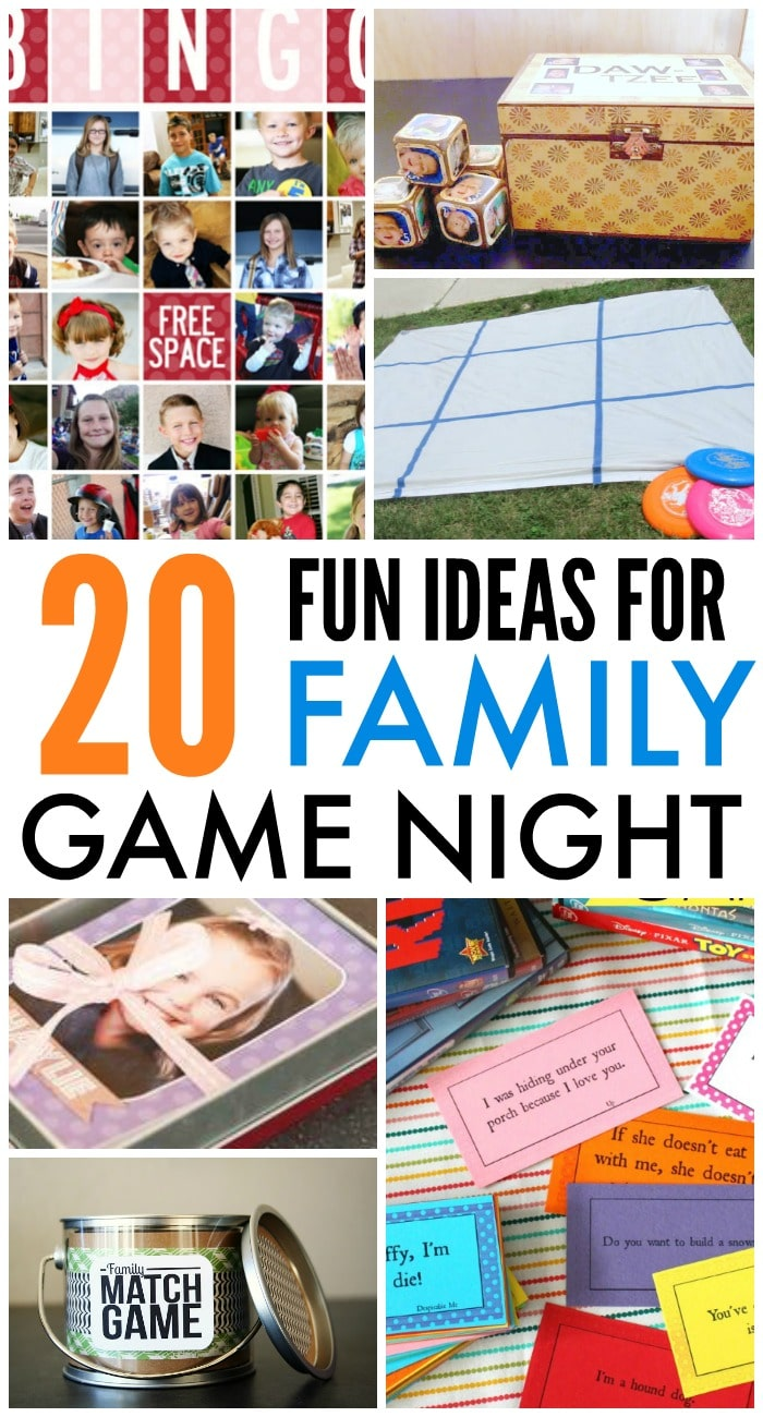 Family games for family game night