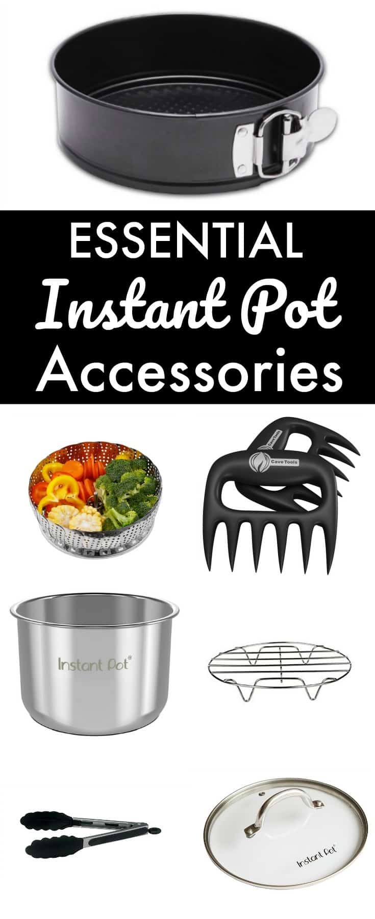 Instant Pots are amazing appliances on their own, but these essential Instant Pot accessories will open up a whole new world of ease and variety! #instantpot #pressurecooker
