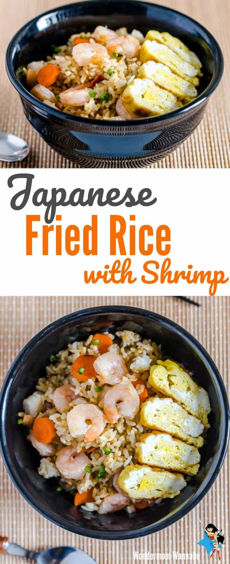 Get the amazing taste of Japanese fried rice for a fraction of the cost by skipping the hibachi steakhouse and making it at home.