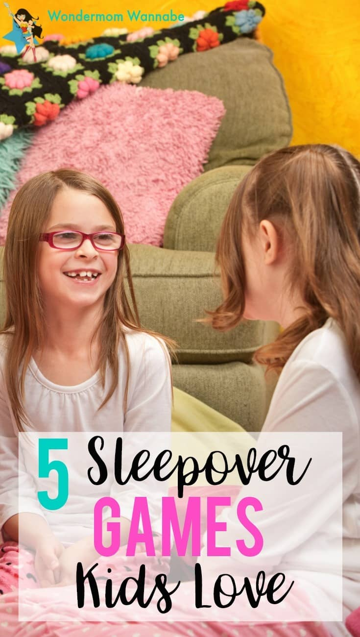 Fun games for girls at sleepovers