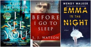 Book Club Suggestions: Psychological Thrillers