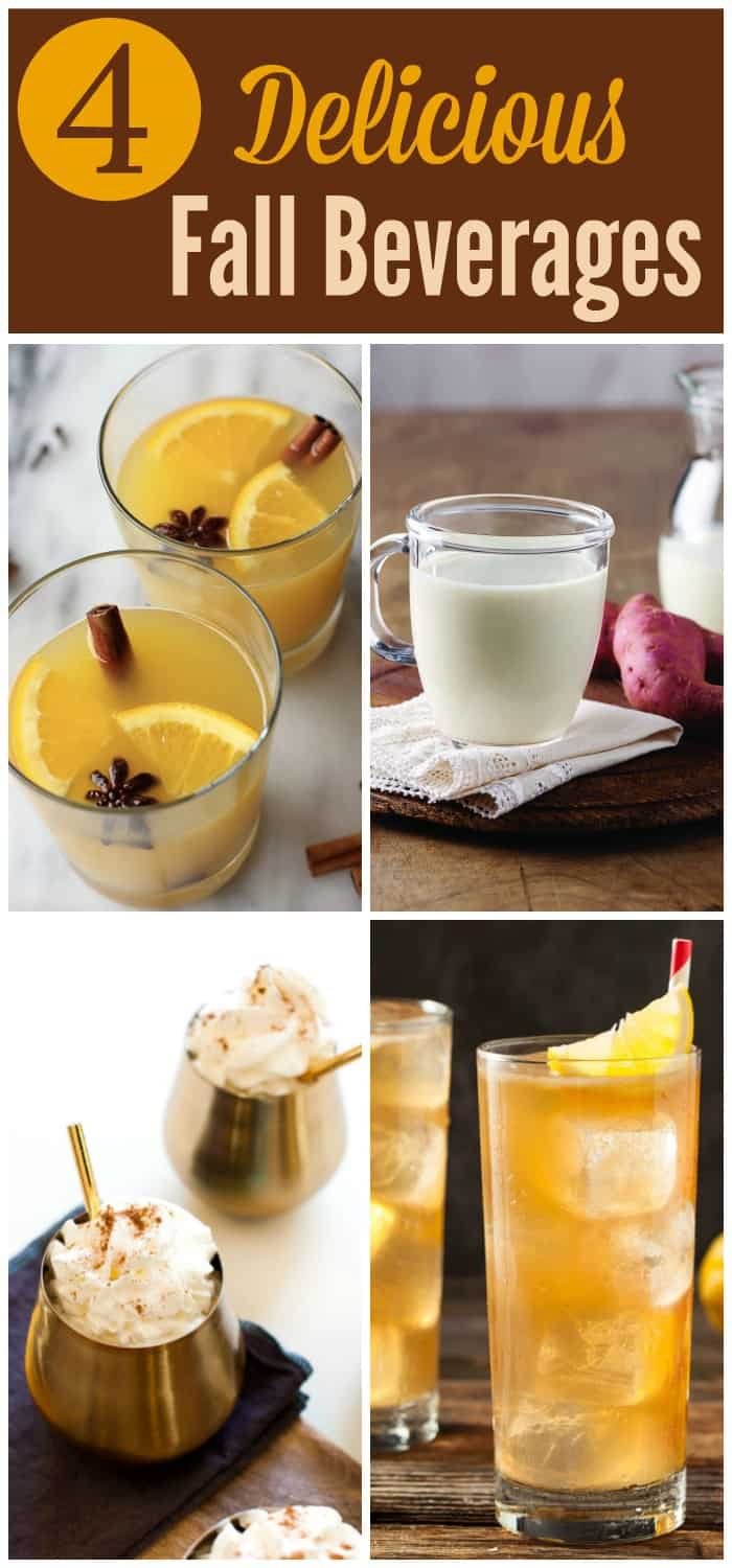 Get into the fall season with these delicious fall beverage recipes. Each one incorporates flavors you've waited all year to come into season. #fall #fallbeverage #beveragerecipes via @wondermomwannab