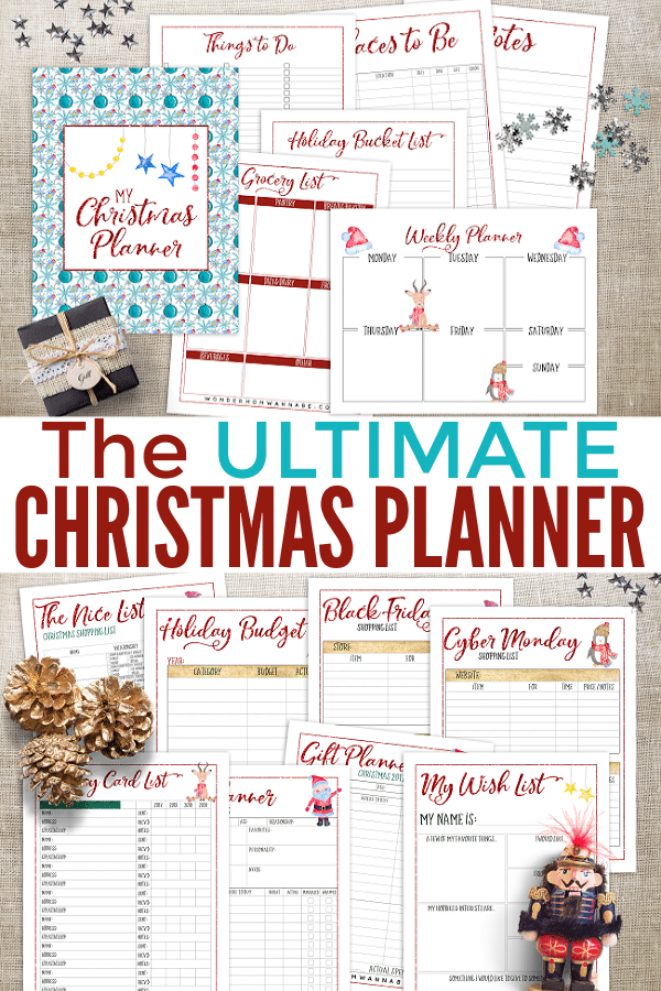 The Ultimate Printable Christmas Planner