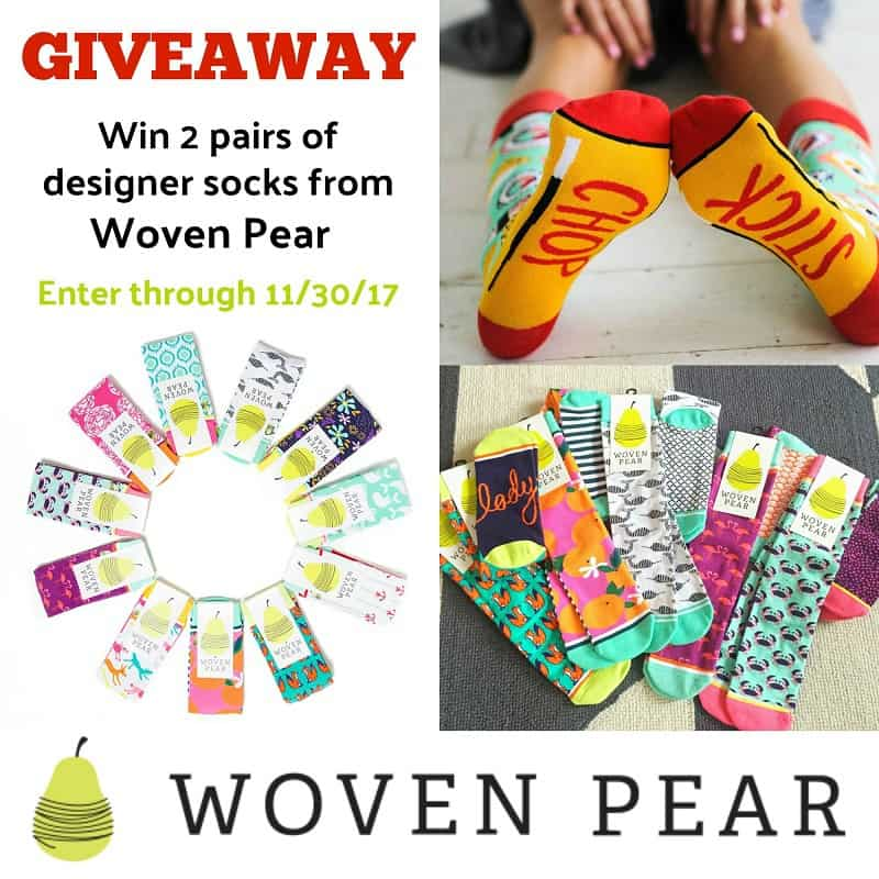 Woven Pear Giveaway | homemadeforelle.com