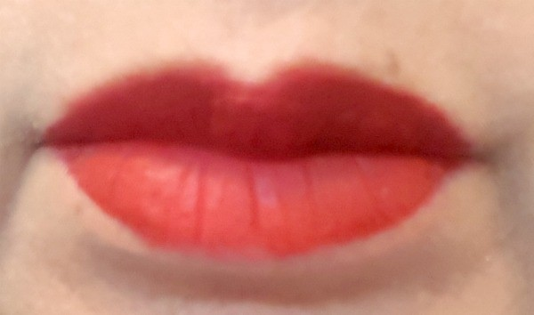 closeup of a woman's lips with lipstick