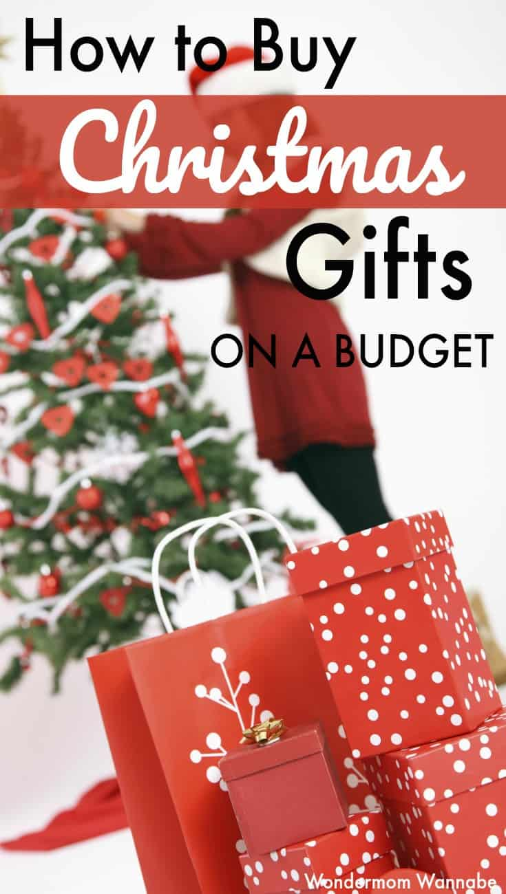Great tips for shopping for Christmas gifts on a budget!