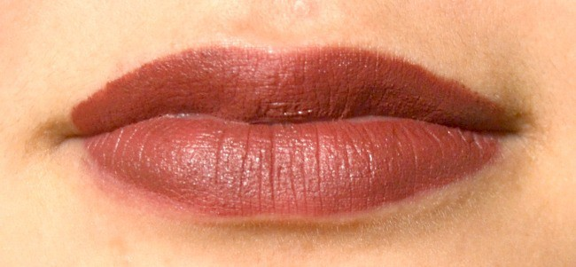 closeup of a girl's lips with lipstick