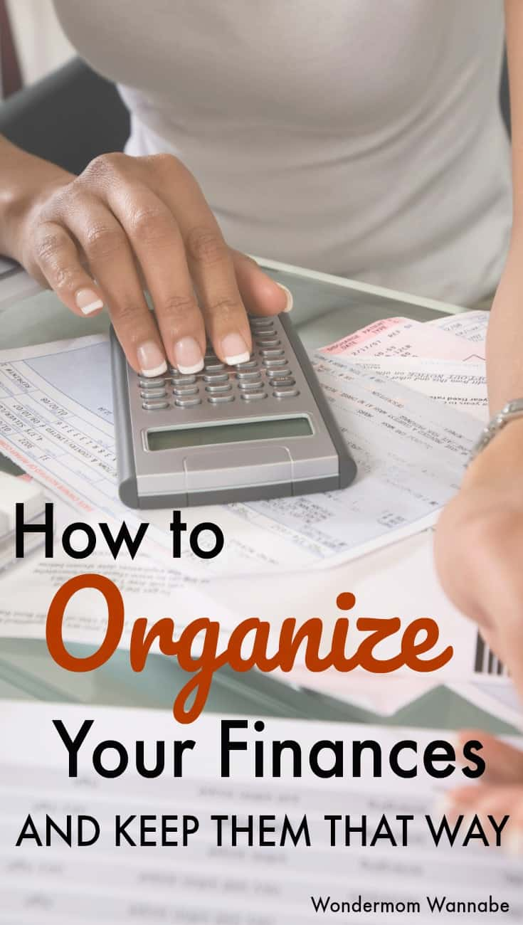 A straightforward system that shows you how to organize your finances and keep them that way. #budgeting #personalfinance